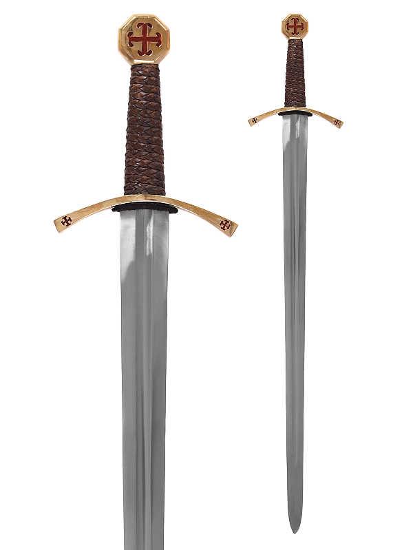 Templer-Schwert mit Scheide Abb. Nr. 1