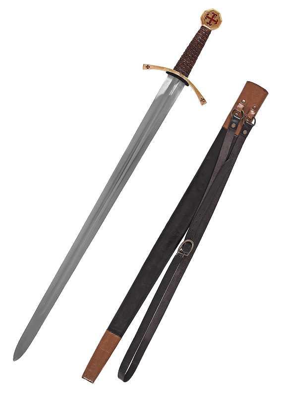 Bild Nr. 3 Templer-Schwert mit Scheide