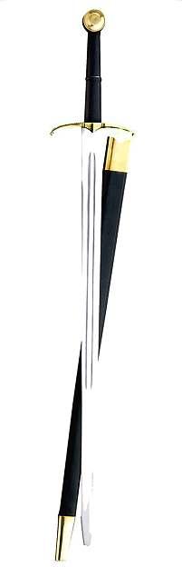 Schaukampf-Bidenhänder mit Scheide