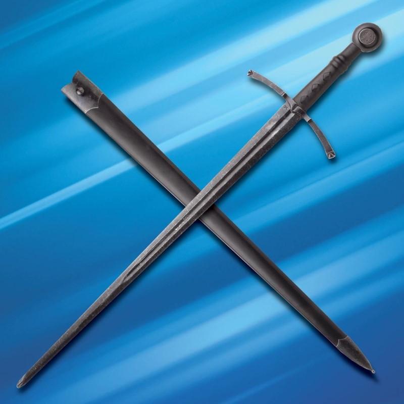 Eineinhalbhänder scharfes Schlachtenschwert Abb. Nr. 4