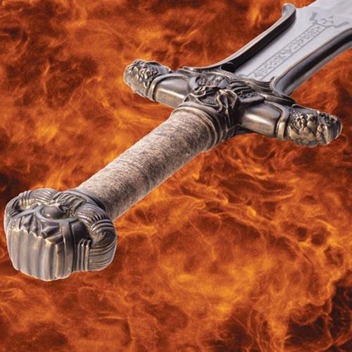 Bild Nr. 2 Atlantean Kohlenstoffstahl Schwert Conan