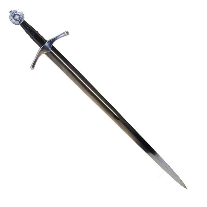 Hochmittelalter Kampfschwert mit Schwertgehänge