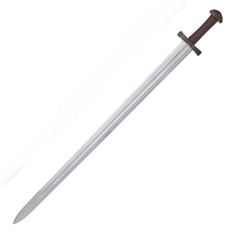Wikingerschwert mit Scheide und Schwertgurt