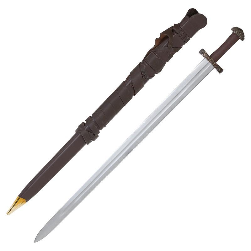 Bild Nr. 4 Wikingerschwert mit Scheide und Schwertgurt