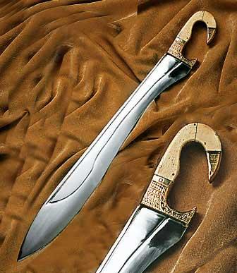 Bild Nr. 2 Falcata Schwert der Antike
