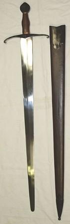 Mittelalter Schaukampfschwert von Auray Abb. Nr. 1