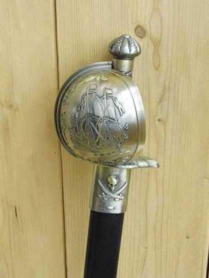 Bild Nr. 2 Piratensäbel Störtebecker Säbel mit Scheide