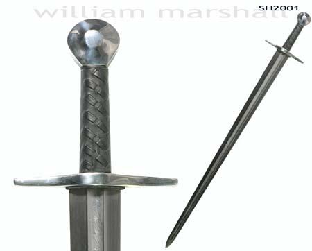 Schwert Sir William Damastklinge