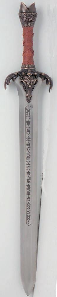 Schwert des Vaters Conan der Barbar Abb. Nr. 4