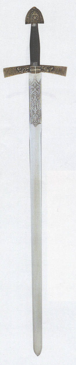 Schwert im Stiel des 14.Jh. Abb. Nr. 1