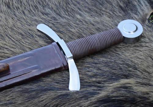 Bild Nr. 2 Scheibenknauf Schaukampfschwert mit Scheide