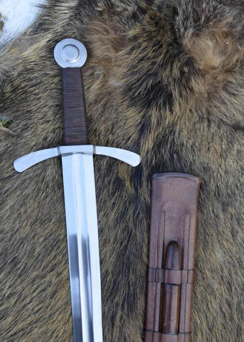 Bild Nr. 3 Scheibenknauf Schaukampfschwert mit Scheide