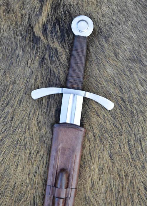 Bild Nr. 7 Scheibenknauf Schaukampfschwert mit Scheide
