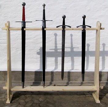 Waffenständer Schwerter Langwaffen Abb. Nr. 1