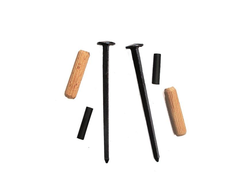 Wandhalter für Schwerter und andere Waffen