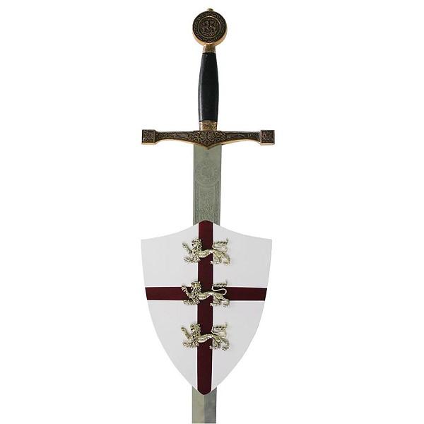 Wandhalter Schild für ein Schwert