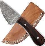 Messer Damast Jagd-und Arbeitsmesser