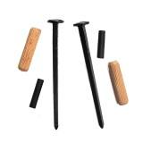 Wandhalter Set für Blankwaffen Schwerter Hellebarden Äxte