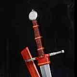 Schwerter Anderthalbhänder mit Scheide 15 Jh.