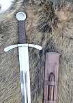 Schwerter Scheibenknauf Schaukampfschwert mit Scheide