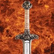 Abb. Conan Schwert Atlantean Kohlenstoffstahl
