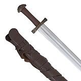 Wikingerschwert mit Schwertgehänge und Scheide