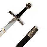 Schwerter Ritterschwert Templerkreuz mit Scheide