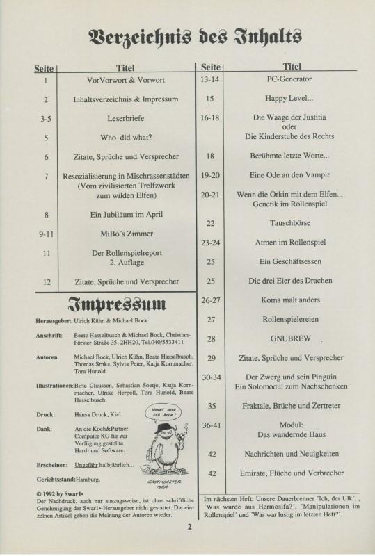 Bild Nr. 2 SWAR1x Ausgabe 10 1992
