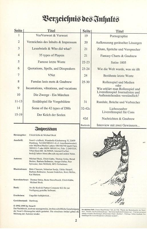 Bild Nr. 2 SWAR1x Ausgabe 14 1994