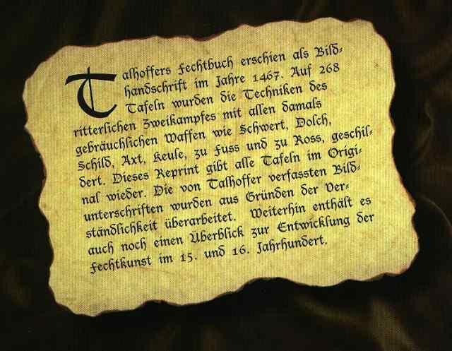 Talhoffers Fechtbuch Abb. Nr. 2