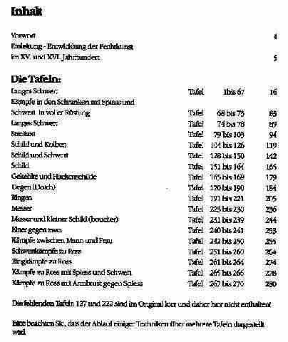 Talhoffers Fechtbuch Abb. Nr. 3