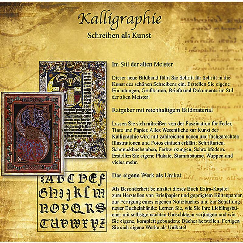 Bild Nr. 4 Kalligraphie - Set mit Buch