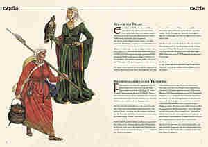 Bild Nr. 3 Kleidung des Mittelalters selbst anfertigen Frau