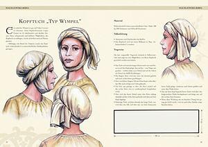 Bild Nr. 3 Kleidung des Mittelalters selbst anfertigen Kopfbedeckungen