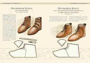 Bild Nr. 4 Kleidung des Mittelalters Schuhe des Hoch-und Spätmittelalters