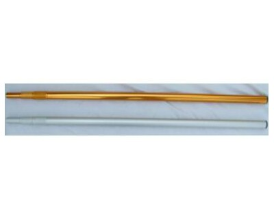 Flaggenmast Silber 350