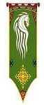 Flaggen Herr-der-Ringe-Banner-Shop Das Banner von Rohan