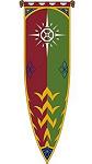Herr der Ringe Das Banner von Rohan III 58 x 200