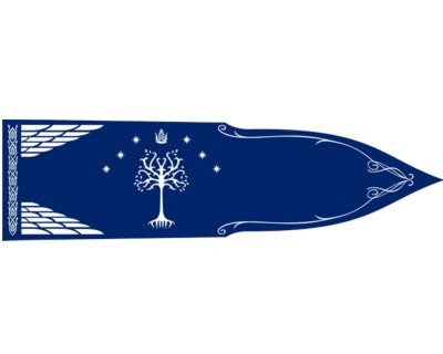 Herr der Ringe Aragorn Flagge
