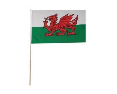 Fahne Wales (Drachen)