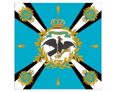 Preußen Standarte, blau