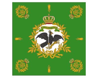 Preußen Standarte, grün