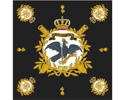 Preußen Standarte, schwarz