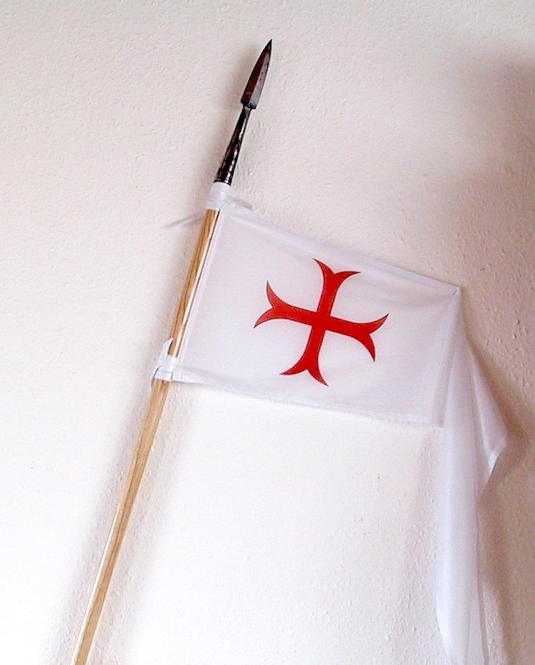 Kreuzritter Templer Banner