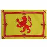 Historische-Fahnen Roter Löwe auf gelbem Grund Schottland