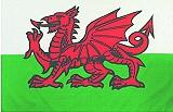 Historische-Fahnen Flagge Wales