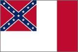 Historische-Fahnen Offizielle CSA Fahne