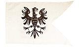 Ritterfahnen Ritterfahne Adler weiß
