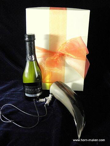 Bild Nr. 2 Geschenkset Proseccohörnchen mit Prosecco Frizzante