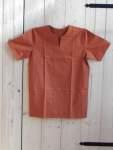 Mittelalterhemden Mittelalterhemd einfach rot